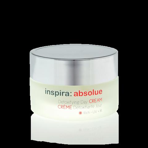 INSPIRA Детоксицирующий обогащенный увлажняющий дневной крем | Detoxifying Day Cream Rich