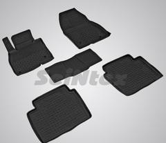Резиновые коврики для MAZDA 6 (с 2012 г.) с выс.бор (компл)