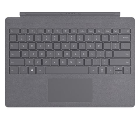 Клавиатура Microsoft Surface Pro Signature Type Cover (Light Charcoal)