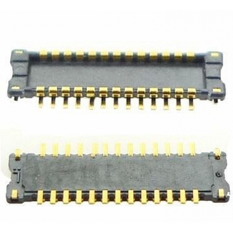 Коннектор FPC шлейфа дисплея (LCD) iPhone 4/4S