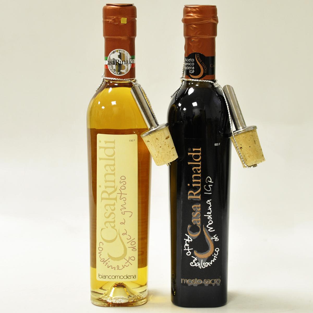 Уксус бальзамический Casa Rinaldi Священное сусло (Extra Premium Class,в черной бутыли) 250 мл