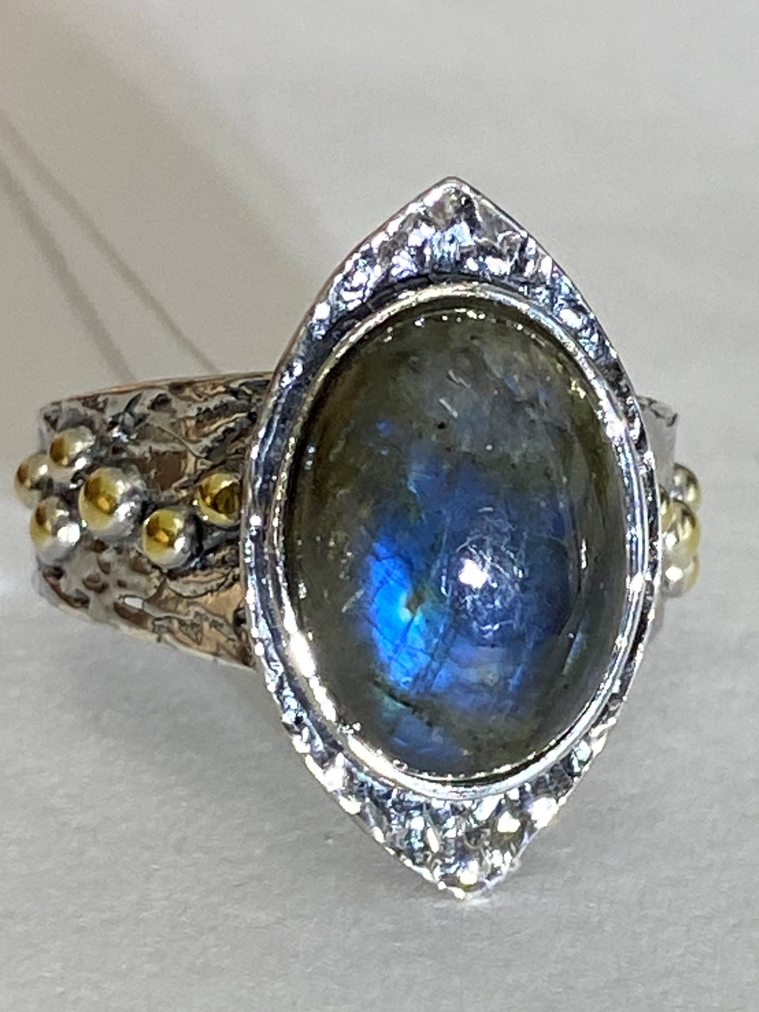 Дарига (кольцо из серебра)