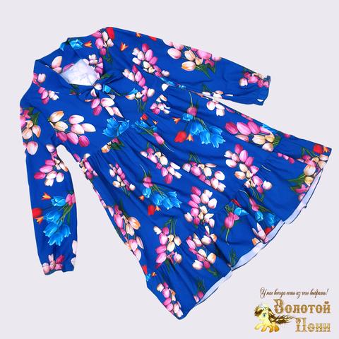 Платье девочке (6-7) 210302-OF7567