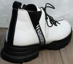 Ботинки белые женские Ripka 146White