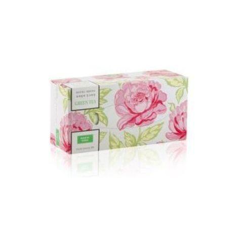 Салфетки-выдергушки для лица двухслойные с ароматом зеленого чая Monalisa Manuka Manuka Green Tea 150 шт