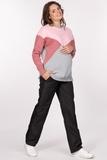 Утепленные брюки для беременных 03254 черный