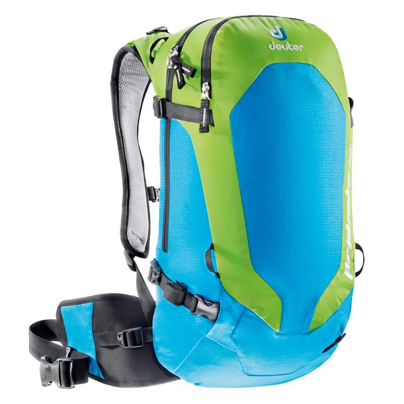 Зимние рюкзаки Рюкзак горнолыжный Deuter Provoke 16 turquoise/kiwi 130158.jpg