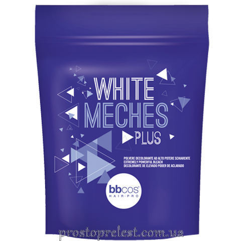 BBcos White Meches Plus Bleaching Powder - Осветляющая пудра (пакет)