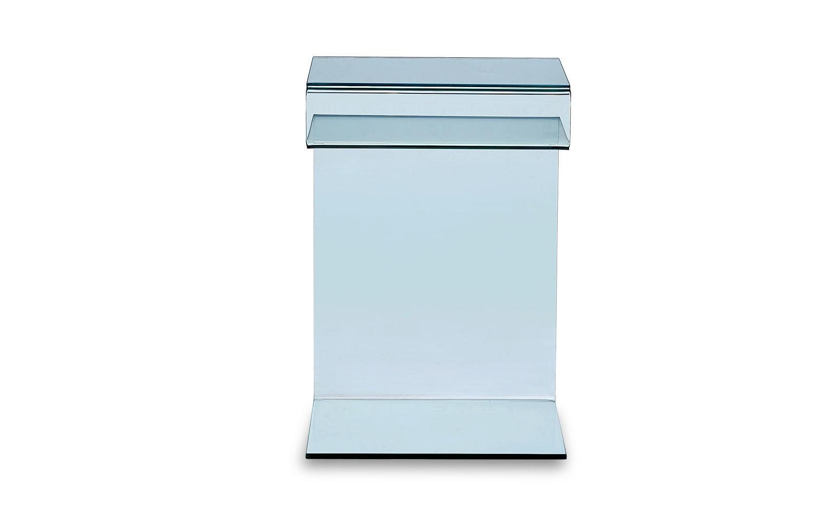 Стол журнальный F-C601 прозрачный