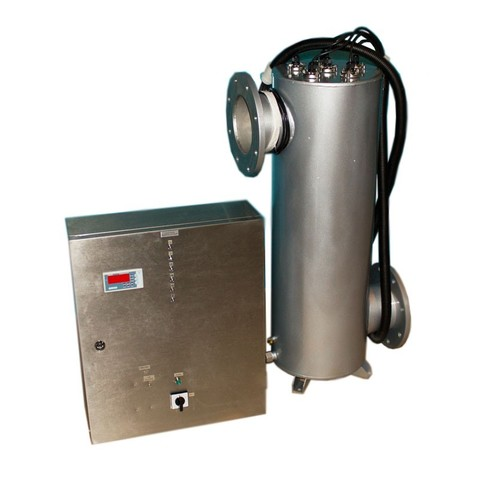 Ультрафиолетовая установка  250м³/час, амальгам, UV TECH