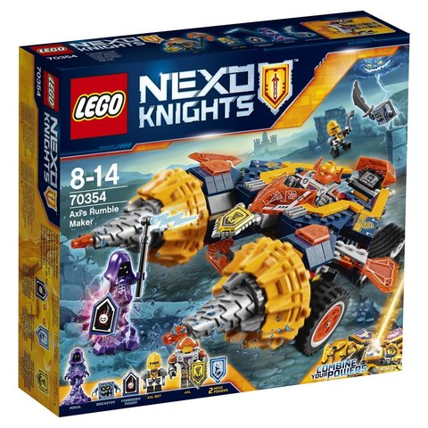 LEGO Nexo Knights: Бур-машина Акселя 70354 — Axl's Rumble Maker — Лего Нексо Рыцари