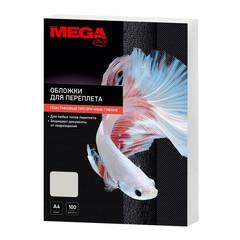 Обложки для переплета пластиковые Promega office А4 150 мкм прозрачные глянцевые (100 штук в упаковке)