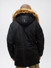 Аляска Alpha Industries N-3B Slim Fit Black (Черная)