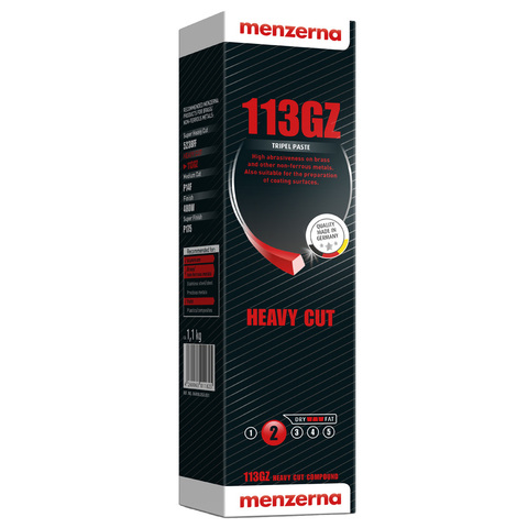 Твердая полировальная паста Menzerna 113 GZ