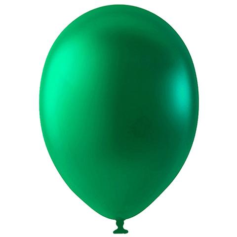 Шар Зеленый Металлик, 30 см