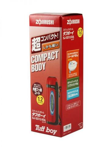 Термос Zojirushi SJ-SD (1,2 литра), красный