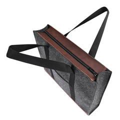 Войлочная сумка Gmakin Milana с элементами кожзама