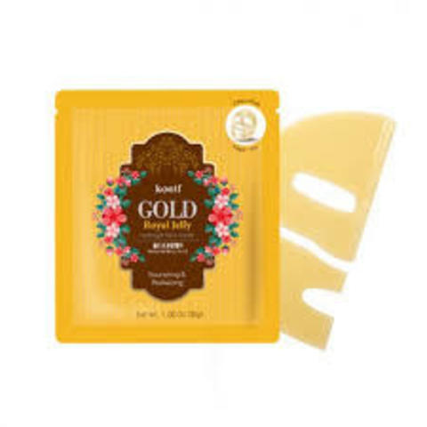 koelf GOLD Royal Jelly hydrogel mask pack