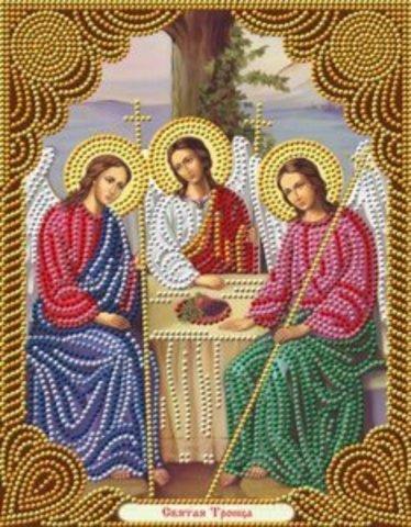 Алмазная Мозаика 27x33 Святая Троица (арт. AS72617)