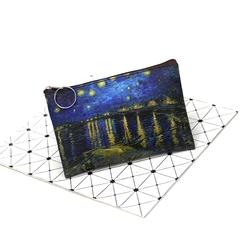Pul, makiyaj çantası \ Кошелек, косметичка \ Money, makeup bag Van Gogh starry night