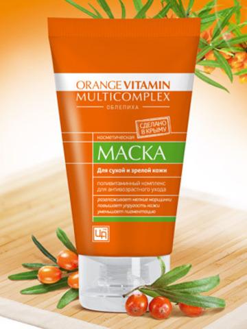 """Маска для лица с пастой облепихи """"Orange Vitamin Multicomplex"""""""