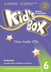 Kid's Box Updated edition 6 Class Audio CDs (4)