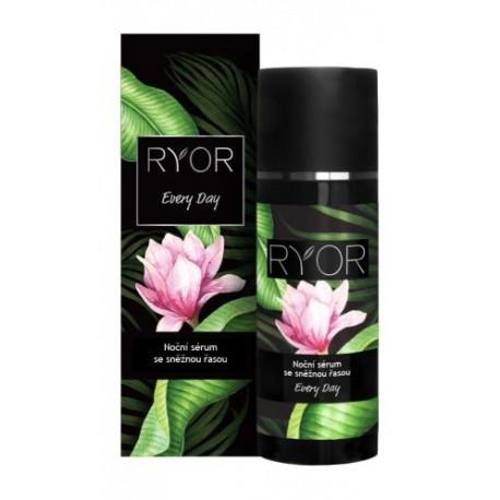Ryor Ночная сыворотка со снежными водорослями для зрелой кожи (интенсивное увлажнение кожи во время сна), 50мл