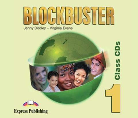 Blockbuster 1. Class Audio CDs. (set of 4). Beginner. Аудио CD для работы в классе