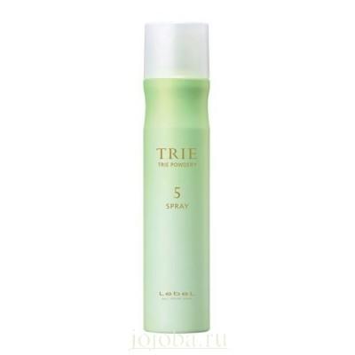 Lebel Trie: Спрей-пудра с матирующим эффектом для волос средней фиксации (Powdery Spray 5)