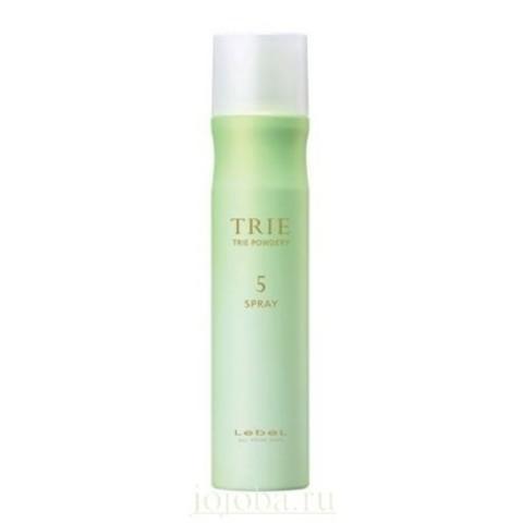 Lebel Trie: Спрей-пудра с матирующим эффектом для волос средней фиксации (Powdery Spray 5), 170г