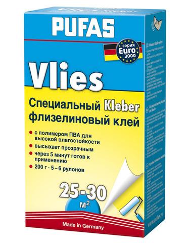 Клей обойный PUFAS EURO 3000 флизелиновый 200г