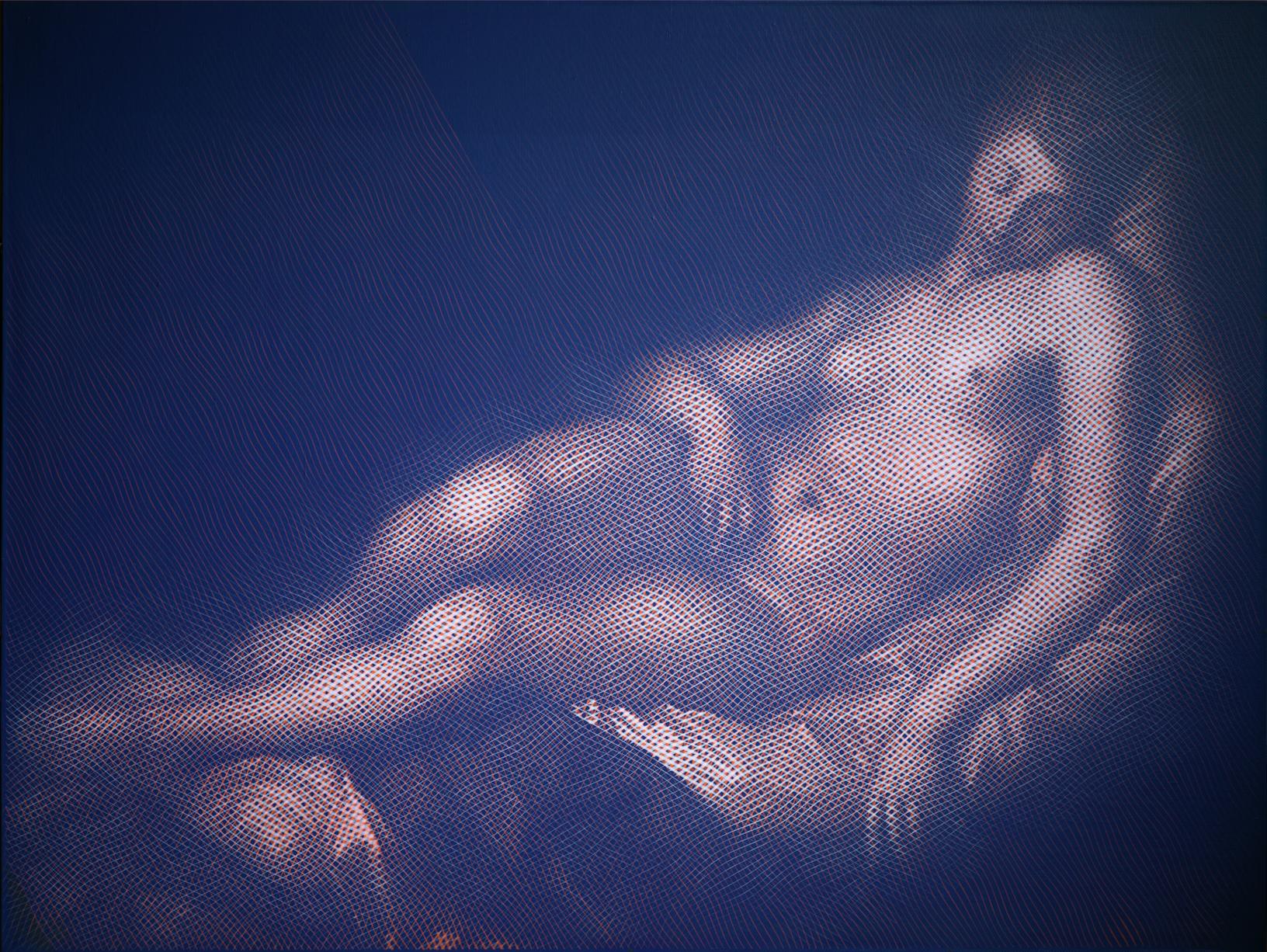The Sleeping Danae (after Hendrick Goltzius)