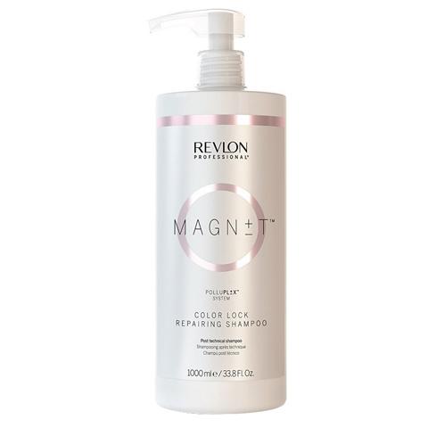 REVLON Magnet: Пост-технический шампунь (Color Lock Repairing Shampoo), 1л