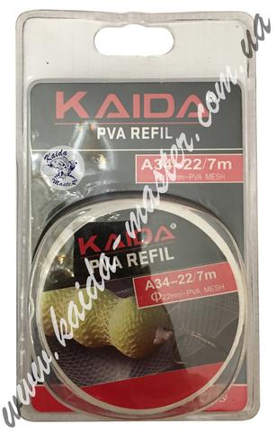 Kaida PVA REFIL сетка для прикормки A-34-22 7m