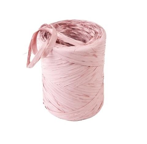 Рафия искусственная Польша 200 м Цвет:нежно-розовая