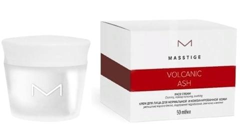 MASSTIGE Volcanic ASH Крем для лица для нормальной и комбинированной кожи 50мл