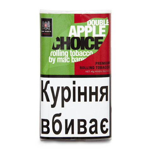 Табак для самокруток Mac Baren Double Apple Choice