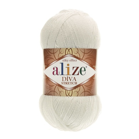 Пряжа Alize Diva Stretch цвет 062