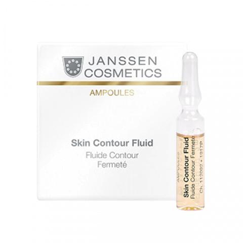 JANSSEN | Anti-age лифтинг-сыворотка в ампулах с пептидами, стимулирующими синтез эластина / Skin Contour Fluid