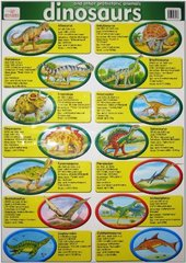 Dinosaurs & Other Prehistoric Creatures chart (...