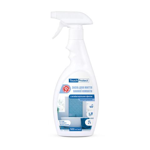 Засіб для миття ванної кімнати з антибактеріальним ефектом Touch Protect 500 мл (1)