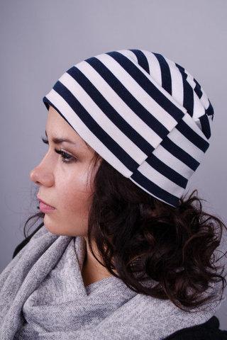 Фешн. Молодіжні жіночі шапки. Смуга.