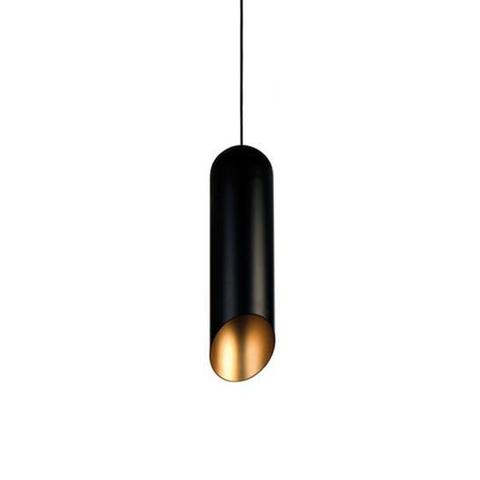 Подвесной светильник копия Pipe by Tom Dixon (черный)