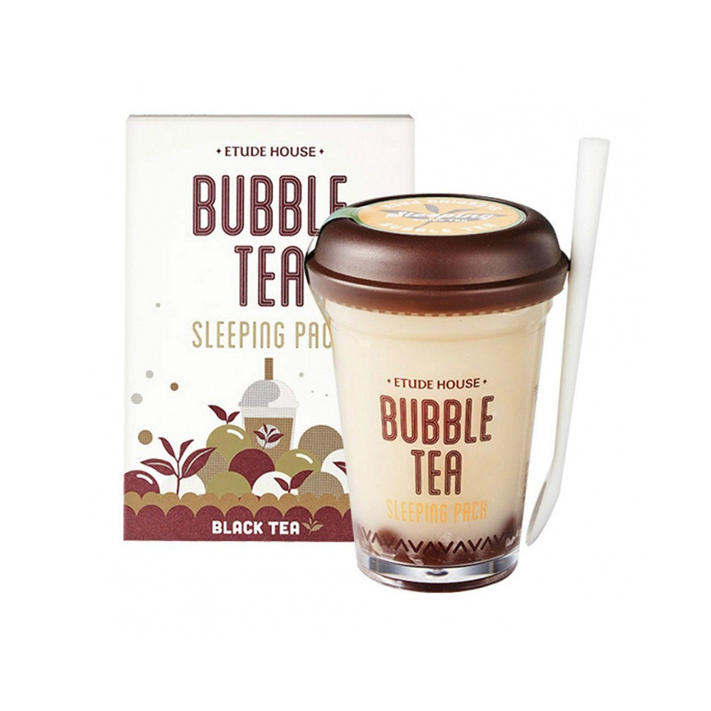 Маски Ночная маска Etude House Bubble Tea Sleeping Pack - Black Tea, 100 мл import_files_4d_4da92cd65a5611e980fb3408042974b1_f317aeb65c9711e980fb3408042974b1.jpg