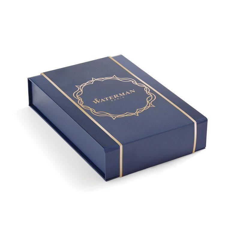 Набор подарочный Waterman Hemisphere - Matte Black CT, шариковая ручка + чехол