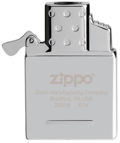 Газовый вставной блок для широкой зажигалки Zippo, двойное пламя, нержавеющая сталь123