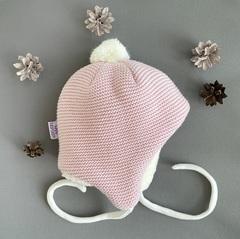 Зимний конверт для новорожденных Мишутка (розовый)