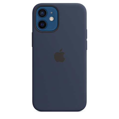 Чехол IP12 Silicone Case Deep Navy