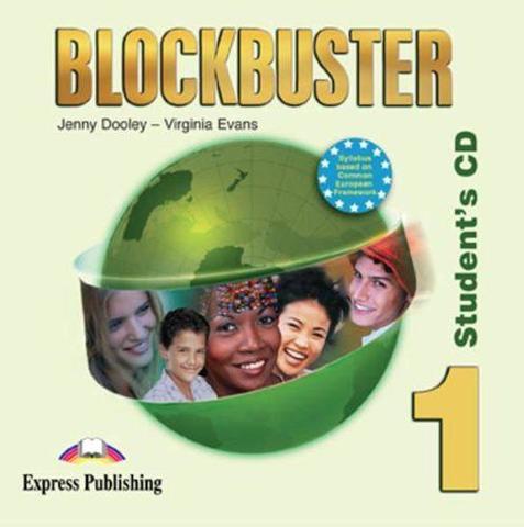 Jenny Dooley, Virginia Evans. Blockbuster 1. Student's Audio CD. Beginner. Аудио CD для работы дома