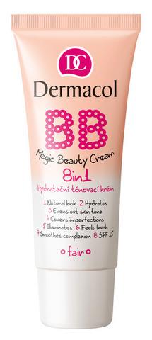 Dermacol BB Magic Beauty Cream Уникальный BB-крем c эффектом тонального средства 8в1, 30мл
